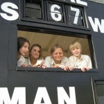 Girls and Harry at Bideford 2008