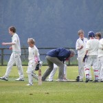 Celebrating a big win vs Braunton U13