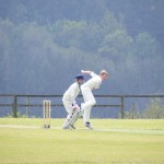 James Ford classic bowling action vs Braunton U13